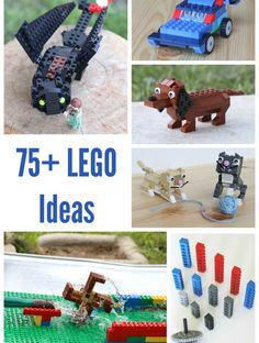 75+ LEGO Ideas for Building and Play