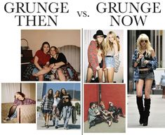 "The Bastardization Of 5 Major Fashion Movements: You're doing it wrong. Grunge isn't so ""pretty"" and expensive. Call it something else."