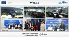 "Miles Education along with IMA hosted public and corporate events on ""The Future of the Accountant in Business"" conducted by Mr. Jeffrey Thomson, the President & CEO of IMA, US. The sessions were hosted in Pune, Bangalore, Hyderabad, Chennai & Delhi  Visit:http://wiley.milescma.com/Jeff_Jan18"