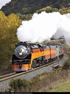Southern Pacific Railroad Steam 4-8-4 at Weaver, Minnesota.....