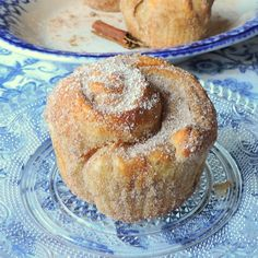 Easy Cinnamon Sugar Cruffins Recipe Generator, Frozen Puff Pastry, English Kitchens, Cooking For One, Sweet Pastries, Lemon Curd, Meals For Two, Kitchen Recipes, Quick Easy Meals