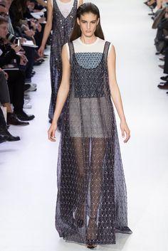 Christian Dior Fall 2014 Ready-to-Wear Fashion Show - Elodia Prieto (SILENT)