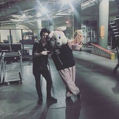 Drunk bunny and sober billie