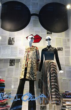 """ALICE AND OLIVIA, Soho, New York, """"Making Back to School look Cool"""", photo by Stylecurated, pinned by Ton van der Veer"""