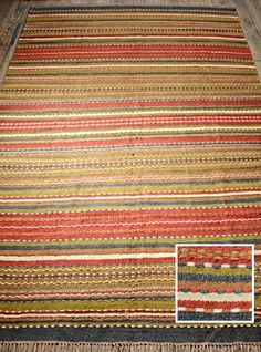 These gorgeous hand woven rugs have fabulously�bright and vibrant�earthy colours to brighten up your home. They feature ethnic and authentic...