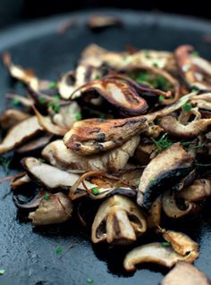 Cast-Iron Mushrooms http://www.epicurious.com/recipes/food/views/Cast-Iron-Mushrooms-367790
