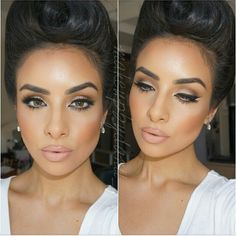 #ShareIG @makeupbydanii_ @makeupbydanii_ looking so romantic in this glamorous updo and beautiful makeup #vegas_nay