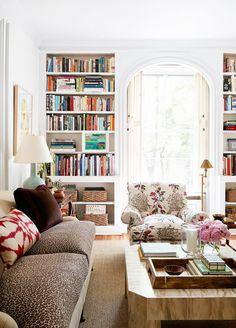 Home Tour: A Young Designer's Chic Pre-War Apartment via @mydomaine