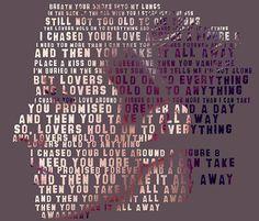 ellie goulding lyrics, figure 8!! Love this song so much