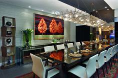 Responsáveis pela decoração do Deck/Bar esse ano, Cristina Morethson e Angelo Coelho já participaram da Casa Cor com esse projeto.