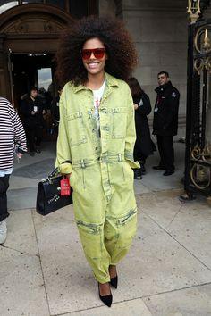 Le style de Tina Kunakey en 11 looks Vincent Cassel, Vogue Paris, Fashion Week, Fashion Outfits, Paris Fashion, Stella Mccartney, Fendi, Tina Kunakey, Rue Saint Honoré
