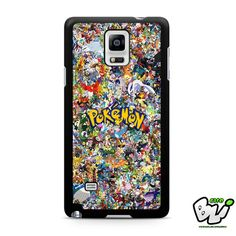 All Character Of Pokemon Samsung Galaxy Note 4 Case