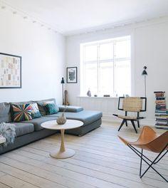 Et boheme-hjem med finurlig kunst | Boligmagasinet.dk