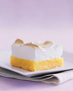 Lemon Meringue Bars Recipe