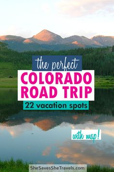 Colorado is an amazing state for a road trip! From incredible mountain scenery and outdoor activites to state and national parks, there's something for everyone! Here's a road trip itinerary with map that you can use ot plan your Colorado vacation. #colorado #roadtrip #usavacation Colorado Road Trip | Colorado Vacation | Things to do in Colorado | Colorado Road Trip Itinerary | Colorado Road Trip with Map | Colorado Road Trip with Kids