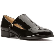 Nine West Women's Nyessa Oxfords Shoes (404172201) ($99) ❤ liked on Polyvore featuring shoes, oxfords, black, black oxford shoes, flat shoes, oxford shoes, black oxfords and slip on shoes