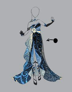 Draw clothing design sketches awesome outfit adopt 19 closed by scarlett knight on deviantart collection of Anime Kimono, Anime Dress, Dress Drawing, Drawing Clothes, Outfit Drawings, Manga Clothes, Fashion Design Drawings, Fashion Sketches, Kleidung Design