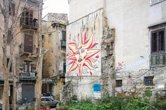 Palermo Italy, Graffiti, Old Things, Museum, Painting, Surrealism, Street, Painting Art, Paintings