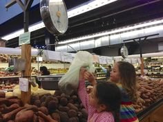 #groceryshopping with kids! Make it a fun, learning experience!