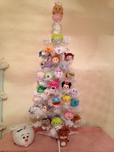 My tsum tsum Christmas tree!