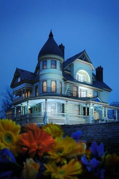 Another view of The Queen Anne Mansion, Eureka Springs, AR