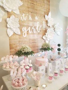 Baby Shower Party Ideas | Photo 1 of 38 #decoracionbabyshowergirl