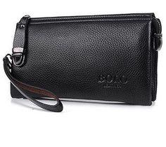Vintage Unisex Wallet; Luxury Long Men's Clutch; Women's Purse Leather;