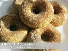 A Handful of Everything: Churro Donuts