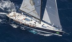 In the Maxi Racer-Cruiser Class Pier Luigi Loro Piana's My Song claimed honours. Photo ©: ROLEX / Carlo Borlenghi
