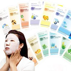 Korean Dermal Face Masks: Korean face sheets are infused with ingredients that were tried & tested by their ancestors and today they are most sought out skincare product all over the world. A routine of using two masks – a cleansing mask & a nourishing mask simultaneously once a week helps reduce the puffiness of the face.