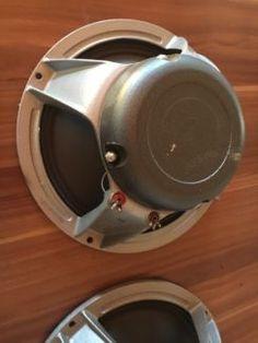 """Biete hier superklingende Speaker aus alter Box an. Die Reparatur des einen scheint schon ab Werk...,Dynachord 12"""" Zoll Speaker Elbau 1967 in Niedersachsen - Herzberg am Harz"""