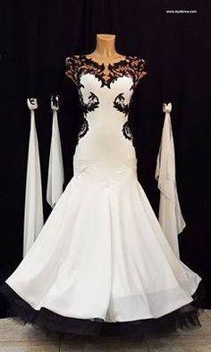 Black & White Ballroom Dress