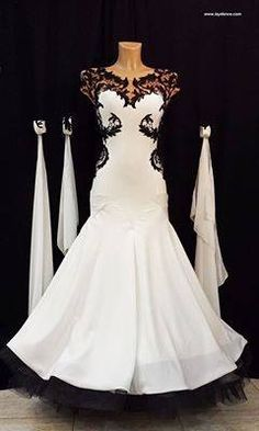 Black & White Ballroom Dress