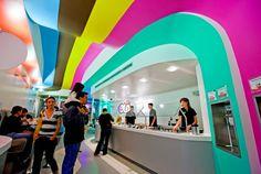 Imagine These: Shop Interior Design | Olo Yogurt Studio | Nob Hill | Albuquerque | New Mexico | Baker Architecture + Design