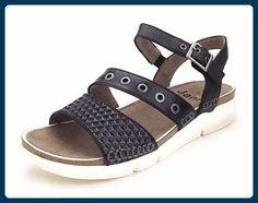 Jana Da.-Sandalette Größe 41 Schwarz (001BLACK) - Sandalen für frauen (*Partner-Link)