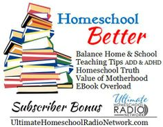 This set is a mini-best-of past Ultimate Homeschool Expo sets: Audios From:  Marilyn Rockett - Balancing Home & School Michelle Geffken - EBook Overload - Includes eBook Chris Davis - Don't Homeschool If ... Carol Barnier - Highly Distractable Children Molly Evert - Value of Motherhood