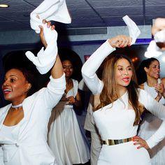Beyoncé, Jay Z, Kelly Rowland, & Solange Celebrate Tina Knowles Lawson's Wedding | Rap-Up