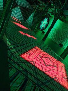 Missoni - Salone del Mobile Milan 2013 - Design week - Light installation - Patterns