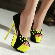 Womens Sexy Stilettos Open Toe High Heels Party Nightclub Shoes Platform Sandals