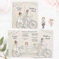 Faire-part chic 2020 : découvrez leur nouvelle collection Faire Part Chic, Carton Invitation, Creative Wedding Invitations, Papi, Wedding Cards, Wedding Planning, Wedding Ideas, Vintage World Maps, Concept