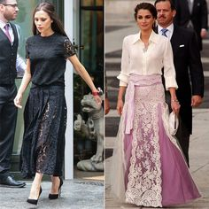 Meet Queen Rania, Victoria Beckham's Totally Posh Style Icon: Wait, Victoria Beckham, most posh lady in all the land, has a style icon?