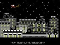 What a gigantic leap forward in computing we made! Here is the Commodore 64 Xmas greeting from 1982. In only 30 years the average processor power increased 30,000 times. The future is so amazing!