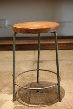 Pierre Jeanneret Stool From Chandigarh , India 1955