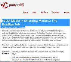 Social Media in Emerging Markets: The Brazilian Job by  Roberto Faria @betofaria & Veronica Heringer @vheringer at #pcto12