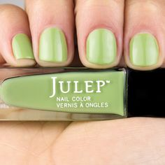 Julep Francis - celery green crème, BG, Garden Party Collection, August 2013