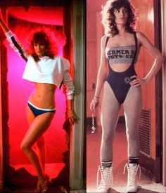 Kelly LeBrock: From the 1985 movie weird science.