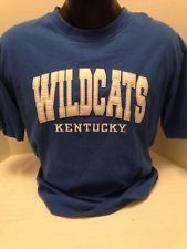 Kentucky Wildcat Tshirt, Men's Large Blue