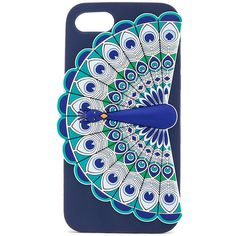 kate spade new york Silicone Peacock iPhone 7 Case ($55) ❤ liked on Polyvore featuring accessories, tech accessories and kate spade