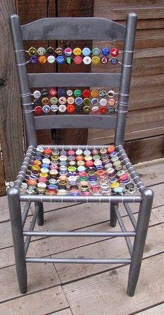 Bottle Cap Chairs
