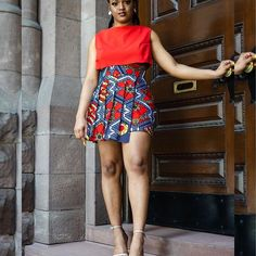 Ankara Short Gown Styles Pictures Dressed for Pretty Ladies.Ankara Short Gown Styles Pictures Dressed for Pretty Ladies Latest Ankara Short Gown, Short African Dresses, Ankara Short Gown Styles, Trendy Ankara Styles, Short Gowns, Short Styles, Beautiful Ankara Styles, Short Skirts, African Fashion Ankara